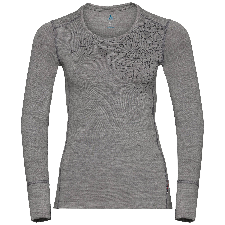 Odlo HAUT BL ALLIANCE grey melange - branches print FW18 taille: XL