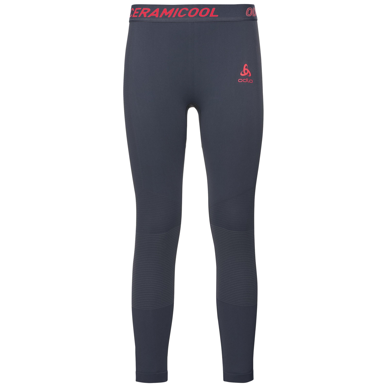 Odlo BAS BL 3/4 ZEROWEIGHT CERAMICOOL PRO odyssey gray - diva pink taille: XL
