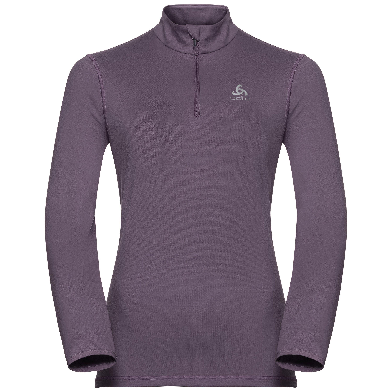 Odlo Pull ½ zippé ALAGNA pour femme vintage violet taille: XL