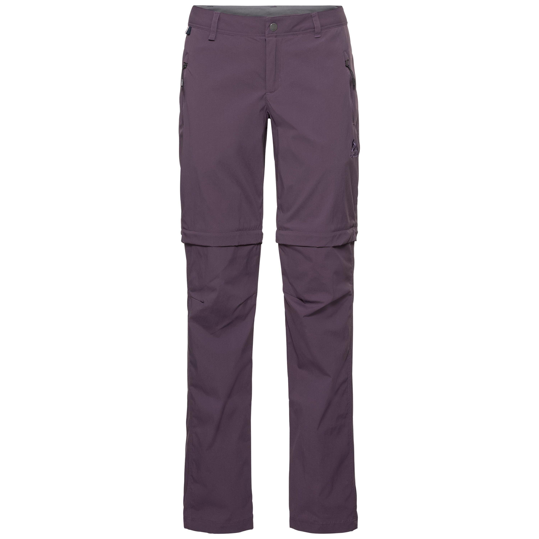 Odlo Pantalon zippé2-en-1 WEDGEMOUNT pour femme vintage violet taille: 36