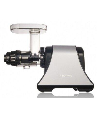 Oscar DA 1200 Extracteur de jus à faible vitesse gris-noir