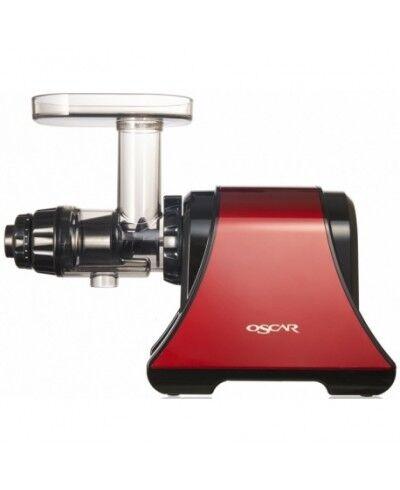 Oscar DA 1200 Extracteur de jus à faible vitesse rouge-noir