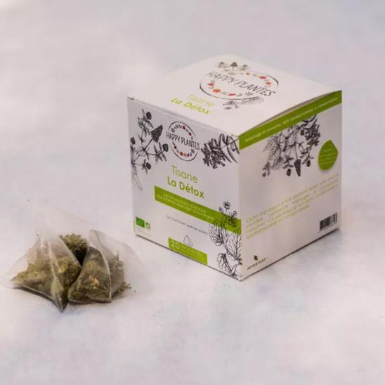 Happy Plantes La tisane La Détox - Boite 20 infusettes   HAPPY PLANTES