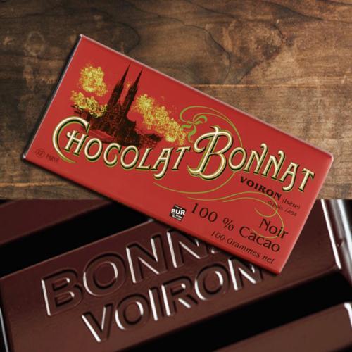 Bonnat Chocolat noir 100 % Cacao   BONNAT