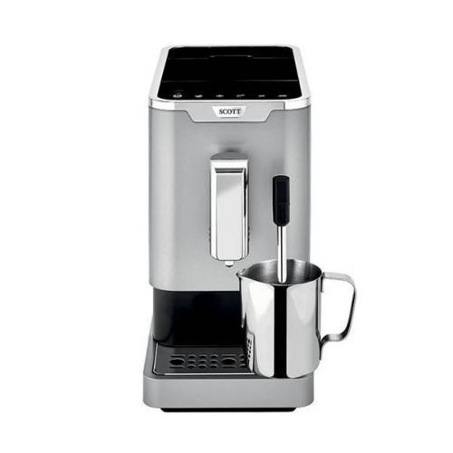 Machine à café Slimissimo Milk & buse Silver - Garantie 2 ans   SCOTT