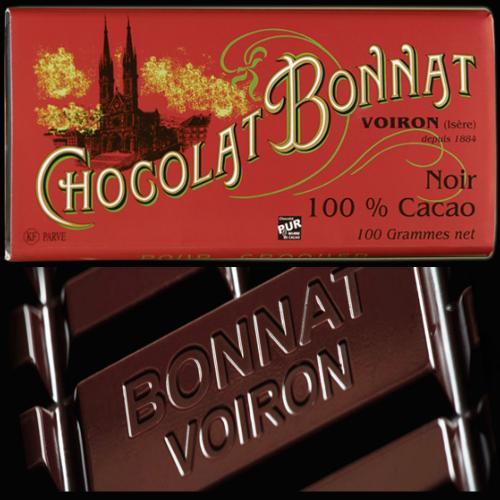 Bonnat Chocolat 100 % Cacao BONNAT