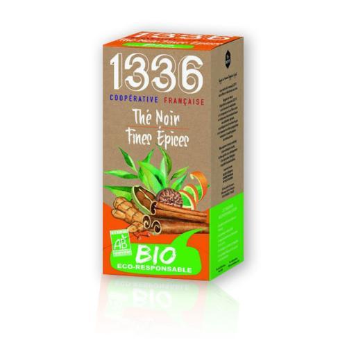 1336 & SCOPTI The Noir fines épices BIO    1336