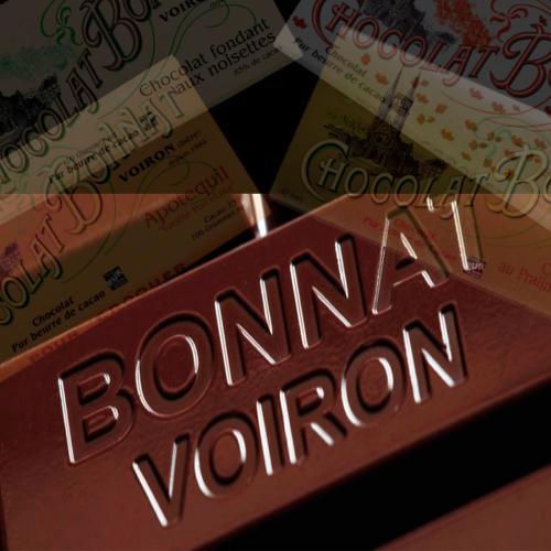 Bonnat Assortiment 5 tablettes de chocolat