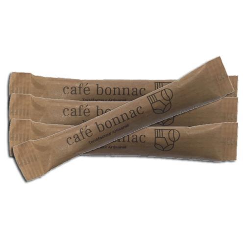 Buchettes sucre roux 'café bonnac' x1000