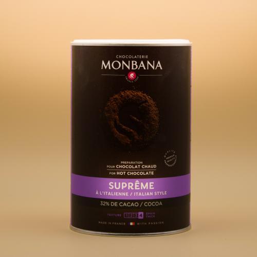 Chocolat en poudre Suprême de chocolat 1 Kg   Monbana