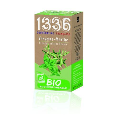 1336 & SCOPTI Infusion Verveine Menthe BIO   1336
