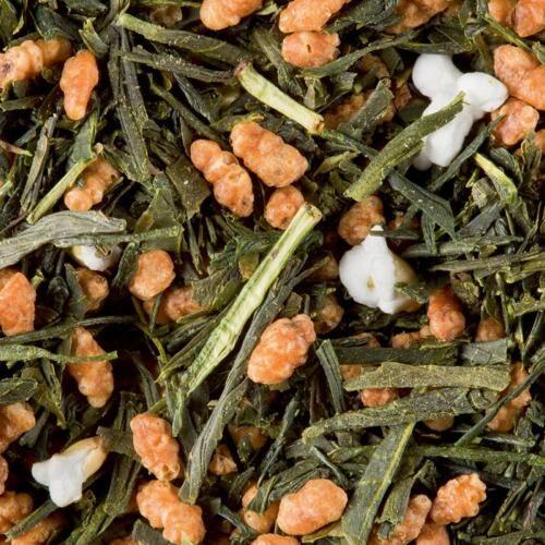 Graindecafe.com Thé vert du Japon Genmaïcha - DAMMANN - Sachet de 100 Gr