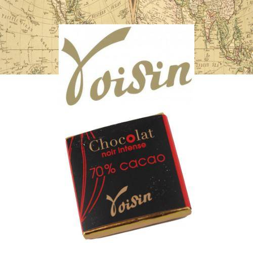 Graindecafe.com Chocolat Noir intense - VOISIN - 100 Gr