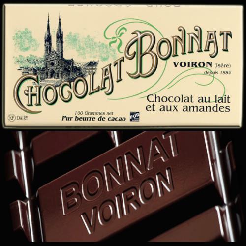 Chocolat au lait et aux amandes BONNAT