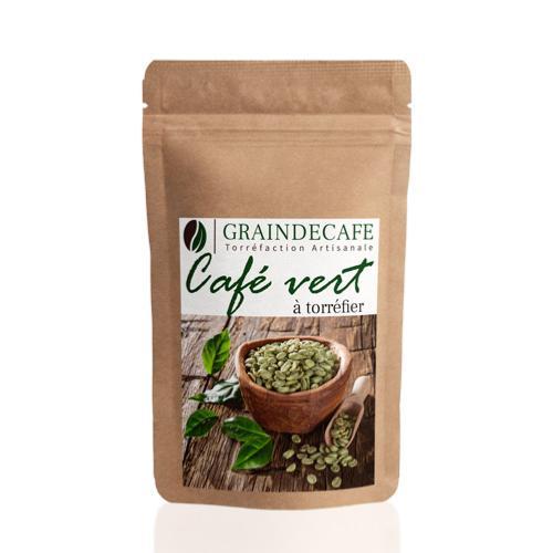 Graindecafe.com CAFE VERT   Ouganda Wugar Bukonzo - Equitable & Bio - 1 Kg