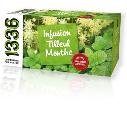 1336 & SCOPTI Infusion Tilleul Menthe   1336