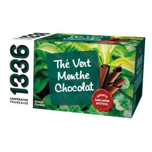 1336 & SCOPTI Thé vert menthe chocolat   1336