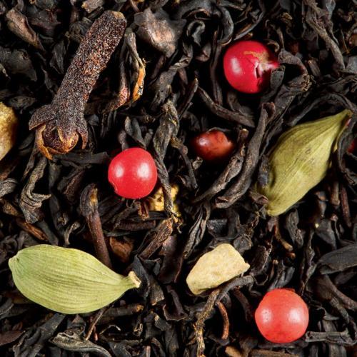 Graindecafe.com Thé noir aromatisé Anichaï- DAMMANN - Sachet de 100 Gr