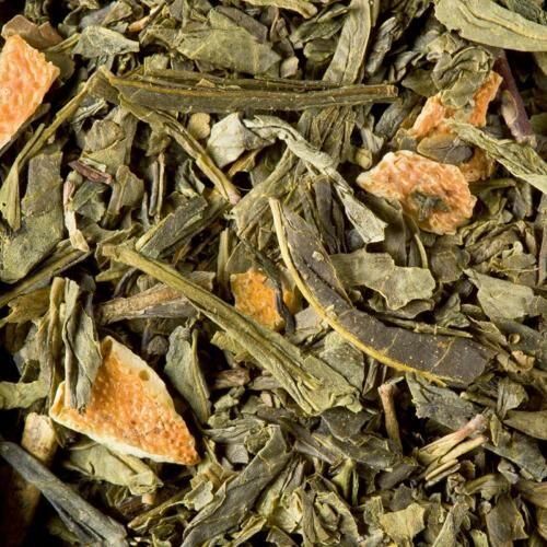 Graindecafe.com Thé vert aromatisé Everglad - DAMMANN - Sachet de 100 Gr