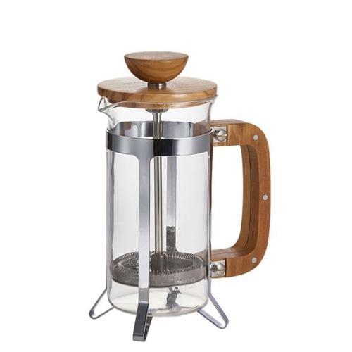 Hario Cafetière piston en verre et bois d'olivier 300 ml   HARIO