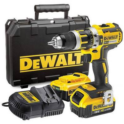 DeWalt Perceuse-visseuse Compact 18V XR - 4Ah - Brushless Dewalt