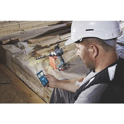 Bosch Perceuse-visseuse à percussion sans-fil connectée GSB 18V-60 C + Module GCY 30-4 Bosch Professional