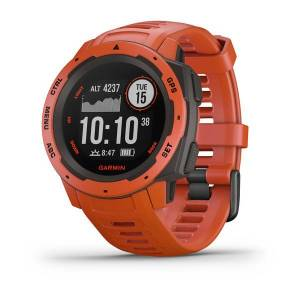 GARMIN Montre GPS Instinct-Rouge