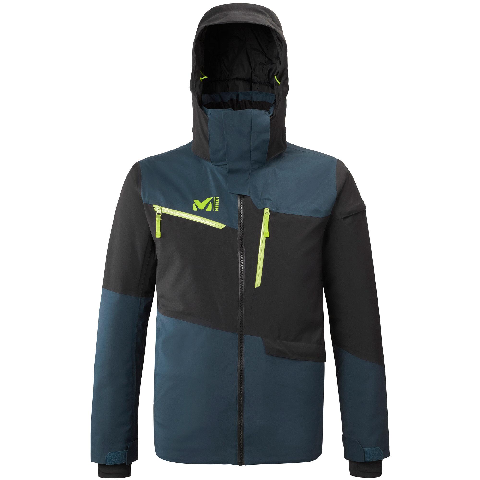 MILLET Veste de Ski Anton GTX Stretch Jacket - Orion Blue Noir
