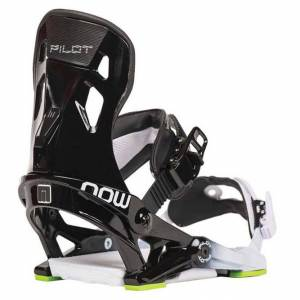 NOW Fixation Snowboard Pilot - Noir/Vert