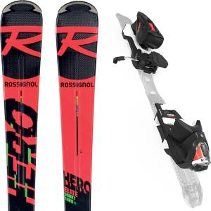 ROSSIGNOL Pack Skis Hero Elite ST TI 2021 + Fixations NX 12 K Dual - Publicité