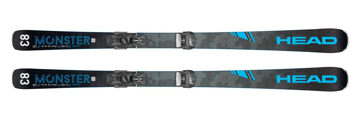HEAD Pack ski Monster 83 Ti 2020 + Fixations Attack 11