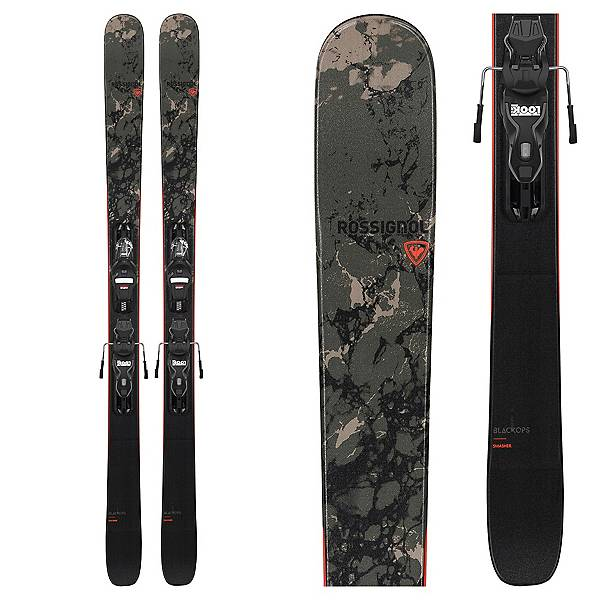 ROSSIGNOL Pack Skis Blackops Smasher 2021 + Fixations Xp10