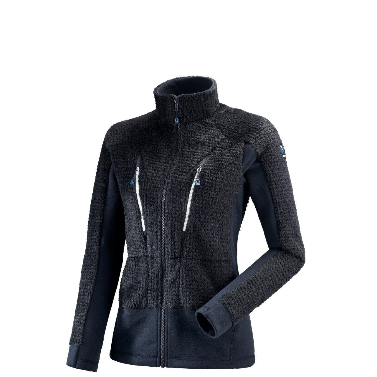 MILLET Polaire de randonnée Trilogy X Wool Jacket - Saphir Blanc