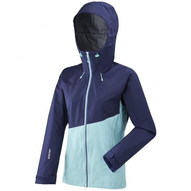 MILLET Veste de Randonnée Elevation GTX Active Jacket - Blue Depths - Aruba Blue