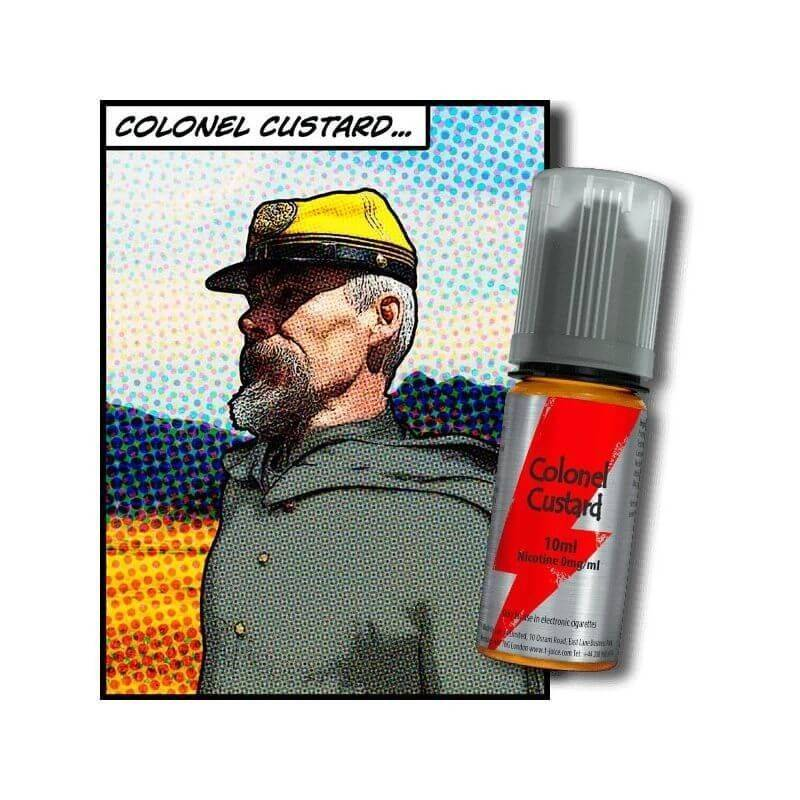 T JUICE E-liquide Colonel Custard T-JUICE