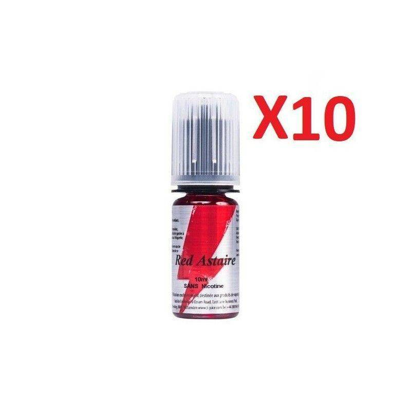 T JUICE E-liquide Red Astaire 10 X 10 ml T-JUICE