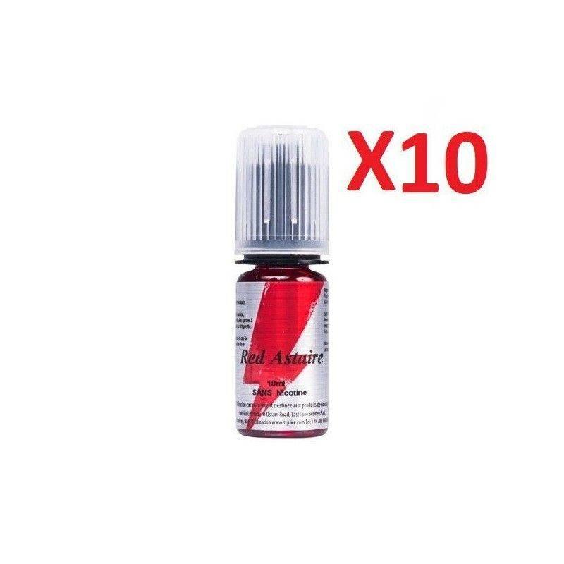 T JUICE E-liquide Red Astaire 10 X 10 ml T-JUICE