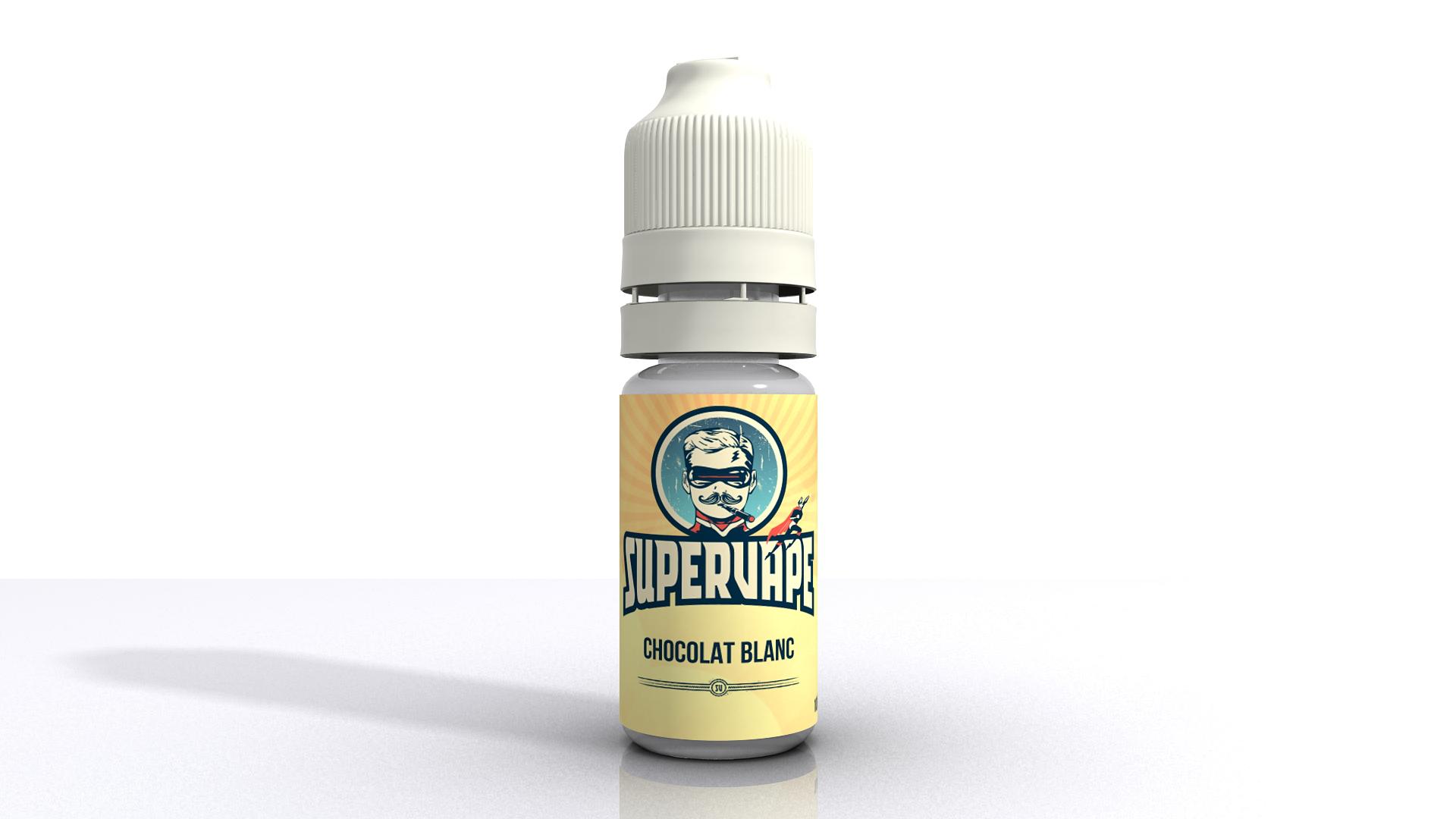 SuperVape Arôme - Chocolat blanc - Supervape concentré - 10 ml