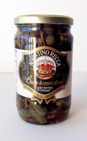 AGOSTINO RECCA Fruits du câprier au vinaigre 720 gr