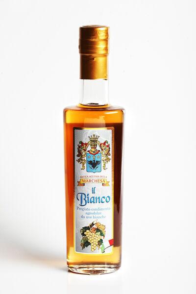 ACETAIA TERRA DEL TUONO Vinaigre balsamique blanc 25 cl