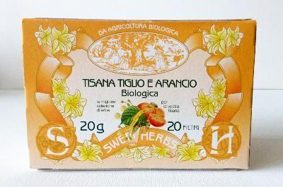 BREZZO Tisane BIO tilleul et orange