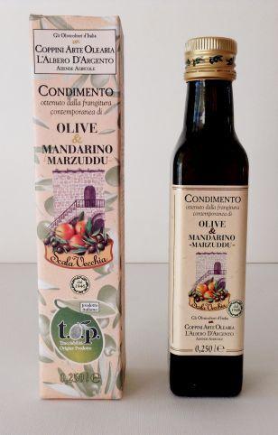 COPPINI Huile d'olive/mandarine tardive de Sicile 25 cl