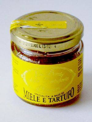 DOS TARTUFI Miel à la truffe noire 100 gr