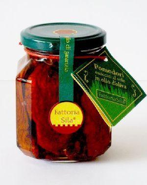 FATTORIA SILA Tomates séchées à l'huile d'olive 314 gr