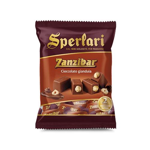 SPERLARI Chocolats noisettes entières 130 gr