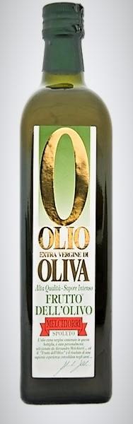 MELCHIORRI Huile d'olive non filtrée d'Ombrie 75 cl