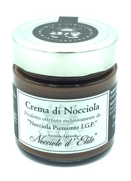 NOCCIOLE D'ELITE Pâte à tartiner Noisette Piémont IGP 250 gr