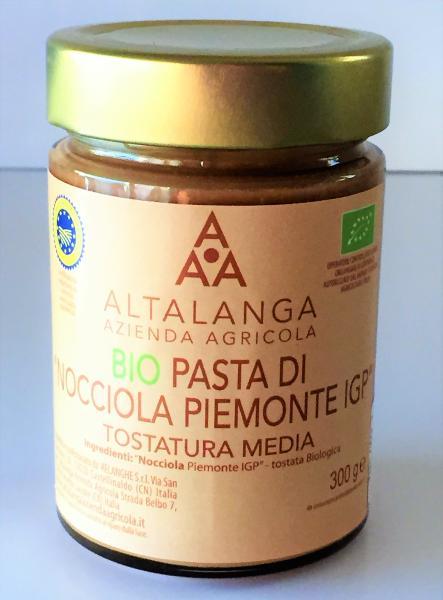 ALTALANGA Pâte de noisette Piémont IGP BIO 190 gr