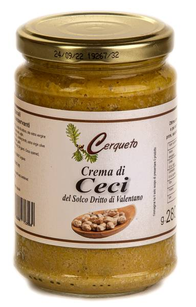 CERQUETO Crème de pois chiches 280 gr