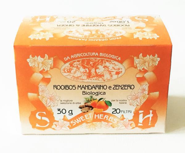 BREZZO Tisane BIO Rooibos/Mandarine/Gingembre